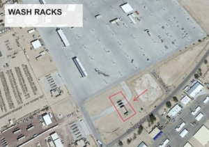 Wash Racks at Fort Irwin in California - SRS Contract