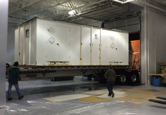 Hazardous Materials Locker Refurbishment by SRS for Marine Corps