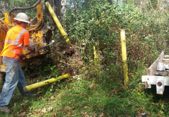 Monitoring Well Abandonment - Crab Orchard National Wildlife Refuge, IL - SRS Project